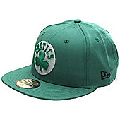 New Era Cap Co Colden Fitted Cap - Boston Celtics Size: 7 1/8 inch