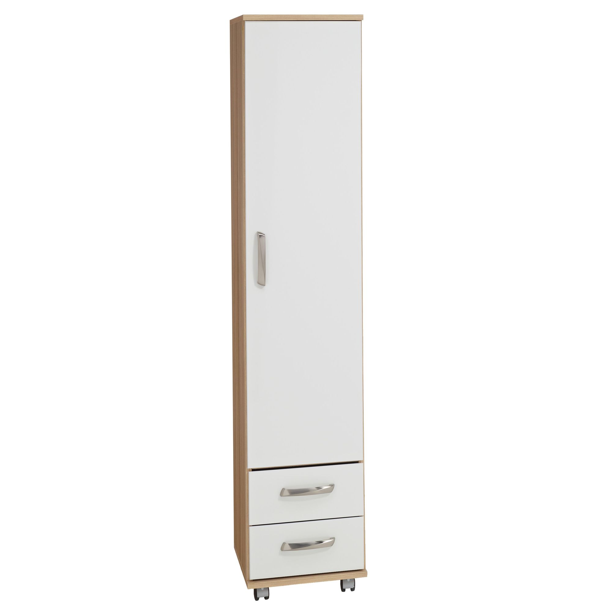 Ideal Furniture Regal 1 Door Wardrobe in white at Tescos Direct