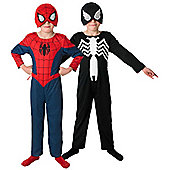 2 in 1 Ultimate Spider-Man - Child Costume 7-8 years
