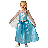 Elsa Deluxe Disney Frozen Costume - Large 7-8 years