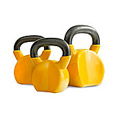 Bodymax 8kg Wrist Safe Kettlebell - Cast Iron Vinyl Coated