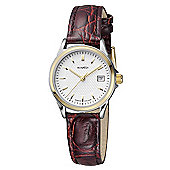 M-Watch Timeless Elegance Ladies Leather Date Watch A629.30460.40