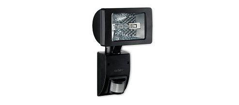 Steinel HS2160 Black Wall mounted 150w halogen sensor light