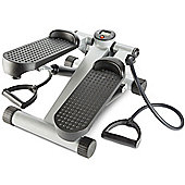 Andrew James Cross Gym Mini Stepper in Silver