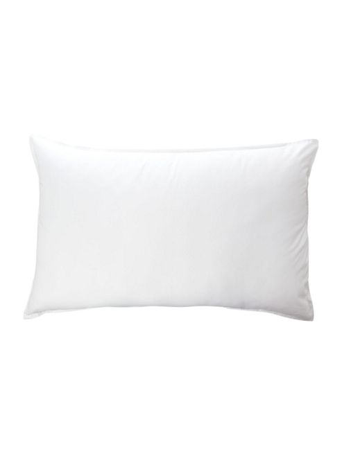 Linea Washable Anti Allergy Medium Pillow Pair New