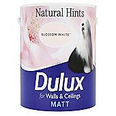 Dulux Matt Emulsion Paint, Blossom White 2.5L