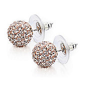 Shimla Ladies Medium Rose Gold Stud Earrings - SH-071M