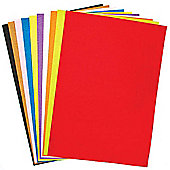 A3 Coloured Felt Sheets Value Pack for Kids and Adults Fabric Crafts Collage Cards or Scrapbooking (Pack of 10)