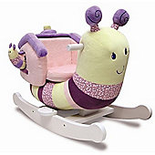 Little Bird Told Me Pink Softly Snail Infant Rocker