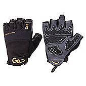 GoFit Diamond Tac Weightlifting Glove Black LARGE