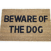 Dandy Beware of The Dog Doormat - 60cm x 40cm