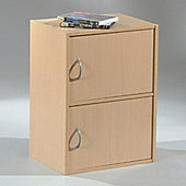 Altruna Easy Life Cube Storage Unit 1212 - Maple