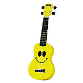 Mahalo Smiley Yellow Soprano Ukulele
