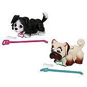 Pet Parade Twin Puppy Pack - Border Collie And Pug