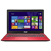 Asus X553MA 156-inch Laptop, Intel Pentium, 4GB RAM, 1TB - Red