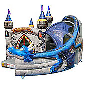 18ft Dragon Age Commercial Bouncy Castle 1031
