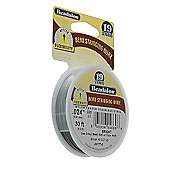 "Beadalon 19 Strand Wire .024"" Bright 30ft (9.2m)"