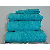 Luxury Egyptian Cotton Bath Towel - Aqua