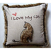 Love My Cat - Cushion Cover