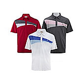 Woodworm Performance Wedge V2 Golf Polo Shirts - 3 Pack - Multi