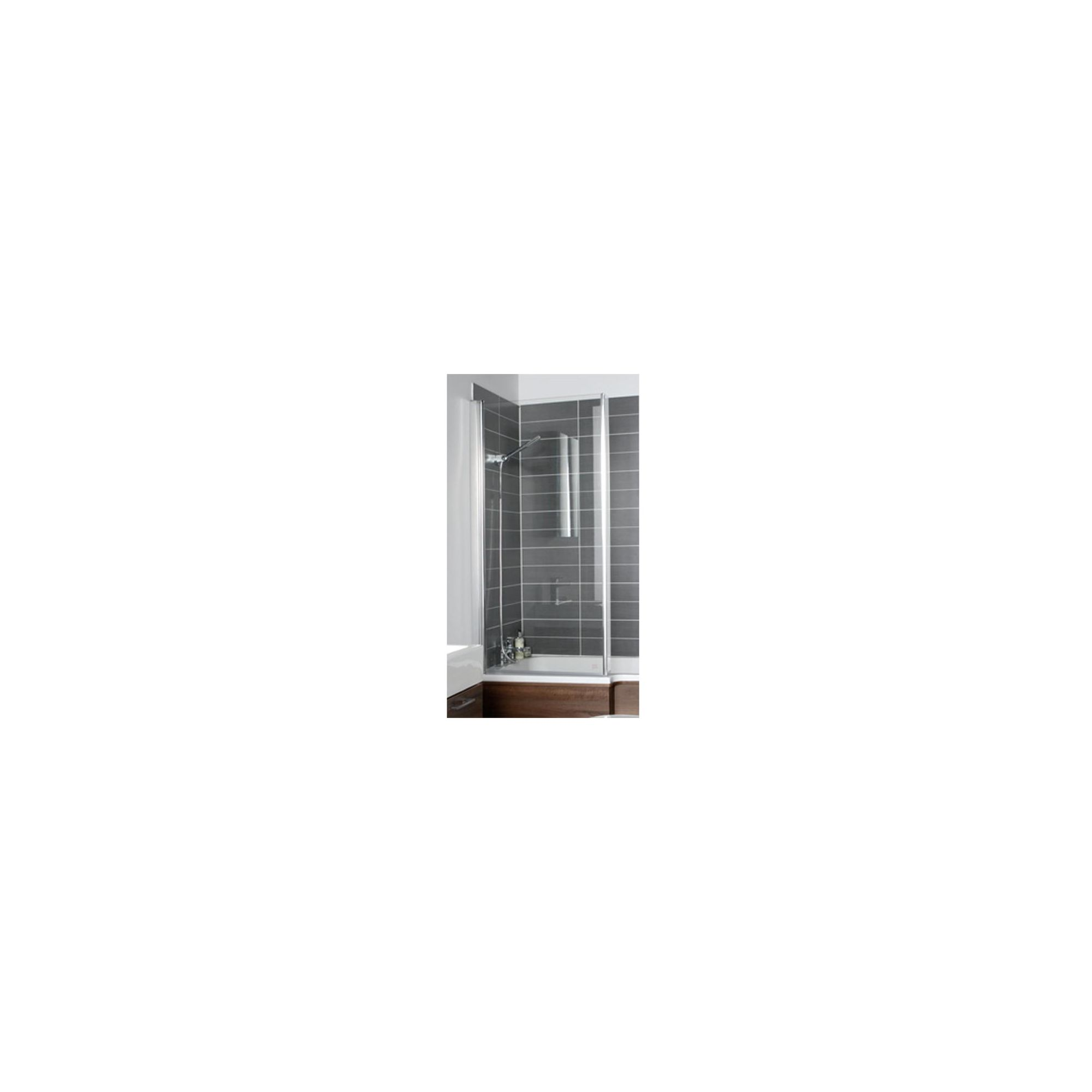 Balterley Square Folding Bath Shower Screen 1420mm x 920mm - 6mm Glass at Tescos Direct