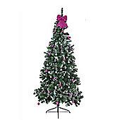 Washington Slim Snow Tipped 8ft Christmas Tree