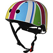 Kiddimoto Helmet - Rainbow Union Jack - Medium