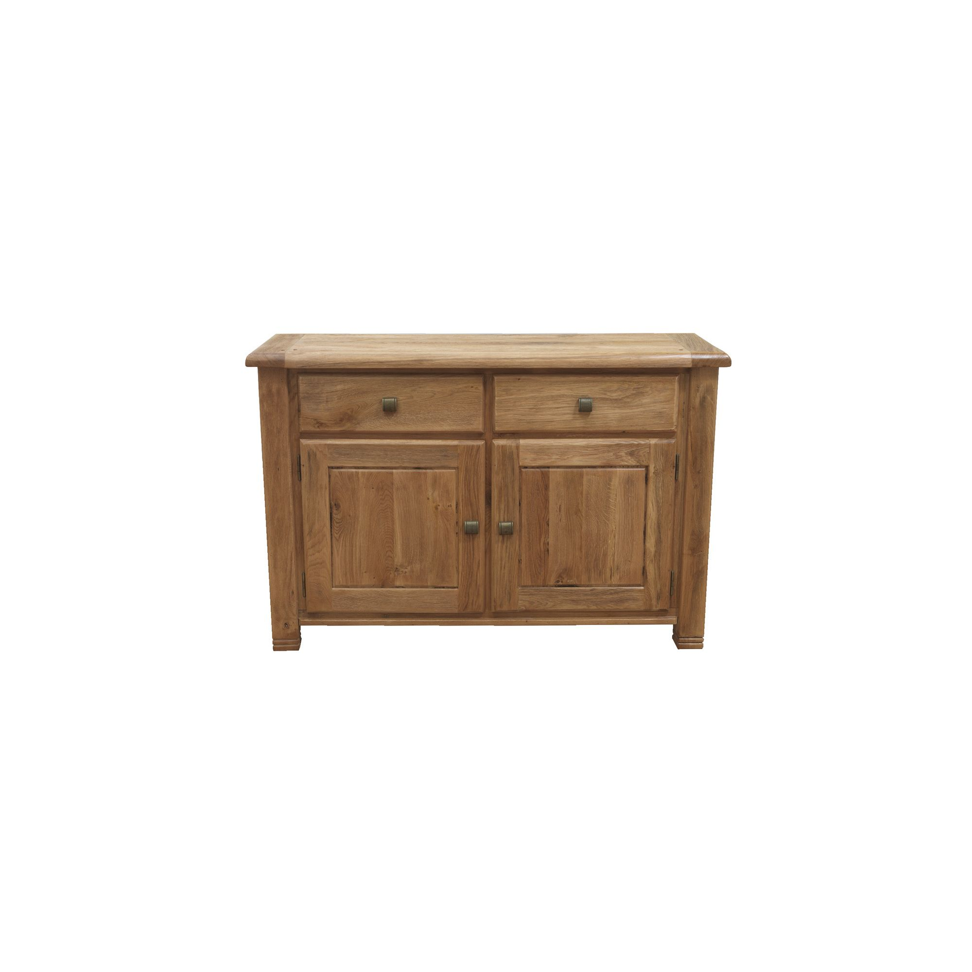 Furniture Link Danube Large Sideboard in Weathered Oak at Tesco Direct