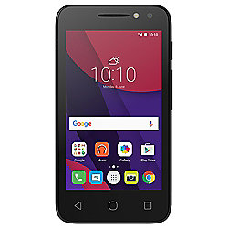 "Tesco Mobile Alcatel Pixi 4 4"" Black"