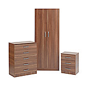 Ideal Furniture Budapest Bedroom Collection - Walnut