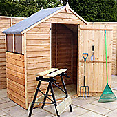 3ft x 6ft Overlap Apex Wooden Shed