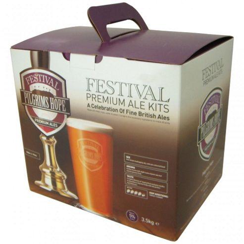 Festival 40 pint home brew beer kit - Pilgrims Hope Bitter