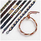 Leather Friendship Bracelet for Boys