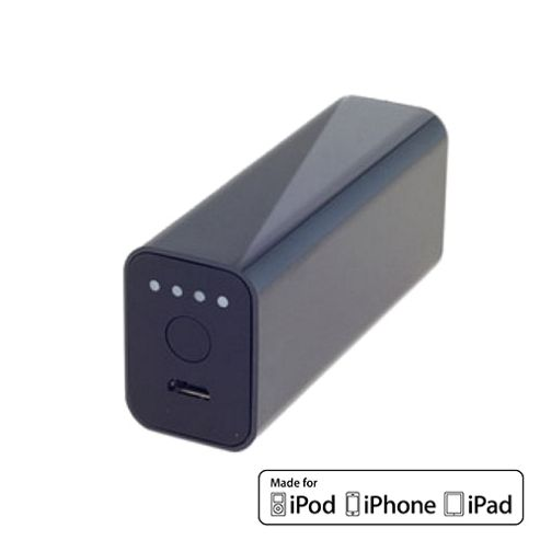 Powerocks Stone External Battery Charger For iPhone 3000mAh Black by Cleverboxes