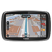 "TomTom GO 6000 6"" Sat Nav with Lifetime European Maps & Lifetime Traffic updates"