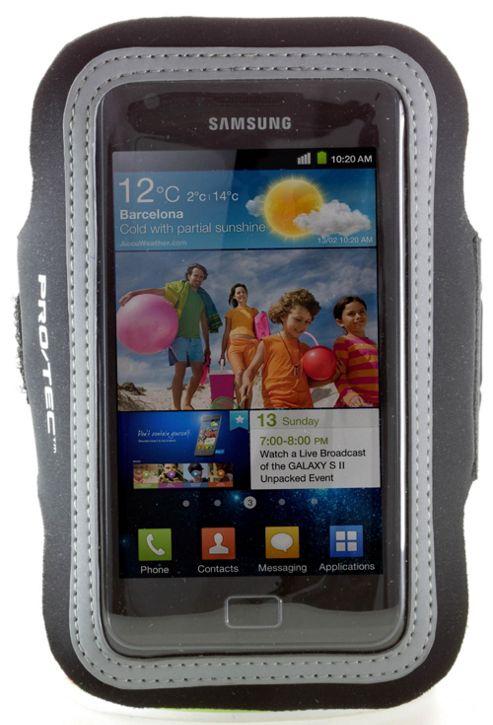 Pro-Tec Athlete Armband Pouch Samsung Galaxy SII Black