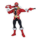 Power Rangers Super Megaforce Armoured Might Figure - Red Ranger