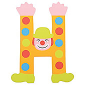 Tatiri Crazy Clown Letter H ((Orange) Spots)