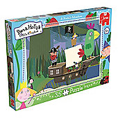 Ben and Holly's Little Kingdom - A Pirate's Adventure Puzzle - 35 Pieces