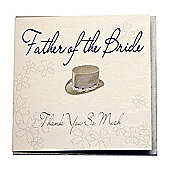 Bliss Wedding - Father of the Bride Wedding Card