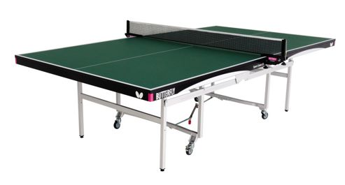 Butterfly Space Saver 22mm Rollaway Table Tennis - Green