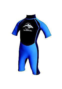 Konfidence Boys Shorty Wetsuits Navy Blue - Blue
