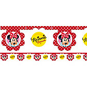 Minnie Mouse Polka Dot Party Flag Banner (each)
