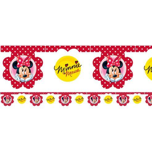 Minnie Mouse Polka Dot Party Flag Banner (each)