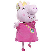 Peppa Pig 14 Inch Princess Peppa With Sound Soft Toy