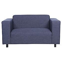 Stanza Small 2 Seater Fabric Sofa, Indigo