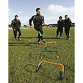 """Precision Training Adjustable 6""""/12"""" Hurdles x 6 With Carry Bag"""