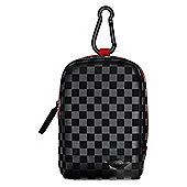 Chequered Leather Medium Camera Bag