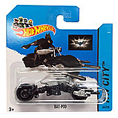 Hotwheels Diecast Car Hot Wheels Bat-Pod No. 64/250 HW City