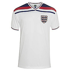 England 1982 Home Shirt White M